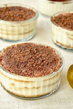 Creamy, delicious and just a little addictive. This incredibly easy vegan tiramisu can be made in just 10 minutes! You don't need to spend hours in the kitchen to enjoy this layered Italian dessert - try our quick and easy method and you'll have delicious tiramisu in no time! It's vegan, dairy free, nut free and can easily be made gluten free. Enjoy! #bestveganrecipes #vegantiramisu #vegandesserts