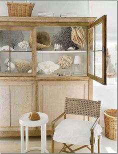 Nice cabinet for displaying Your sea treasures!