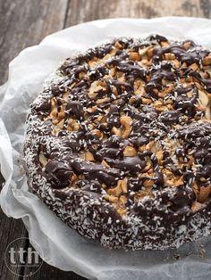 Healthy Cake, Vegan Cake, Gluten Free Sweets, Polish Recipes, Let Them Eat Cake, Vegan Recipes, Vegan Food, Cheesecake, Good Food