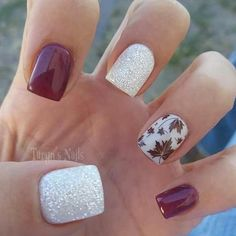 Autumn nail designs are exactly what you have been looking for, haven't you? Get ready to dive into the upcoming autumn nail trends! Nägel Ideen tauchen ein 30 Cute Autumn Nail Designs You'll Want To Try Thanksgiving Nail Designs, Thanksgiving Nails, Stylish Nails, Trendy Nails, Fall Nail Art Designs, Nail Designs For Toes, Fall Acrylic Nails, Fall Gel Nails, Fall Nail Ideas Gel