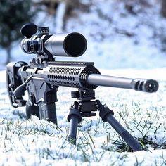 Precision Rifle in creemoor Via Weapons Guns, Airsoft Guns, Guns And Ammo, Tactical Rifles, Firearms, Sniper Rifles, Handgun, Bushcraft, Ruger Precision Rifle