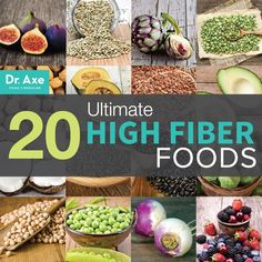 20 Ultimate High Fiber Foods