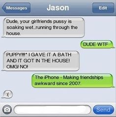 The Web Babbler: Funny Texts #83