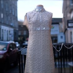 1960's heavily beaded dress which is so by MissBizioCouture