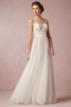 This is so close to my dream dress!  BHLDN 2014 Fall Collection | Bridal Musings Wedding Blog 9
