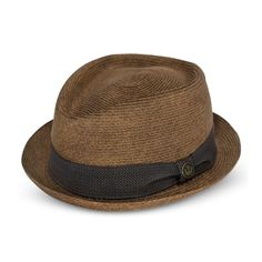 6b6f09b9128 A Goorin Everyday straw porkpie fedora Straw Pork Pie Hat