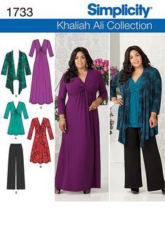 Simplicity Creative Group - Misses' & Plus Size Knit Sportswear