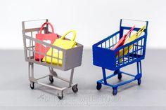 Einkaufswagen mit Schneidplotter hergestellt (.studio3 und .svg) Cricut, Silhouette Cameo, Barbie, Cutting Files, Up, Crafts, Ideas, Miniatures, Paper