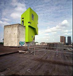 P.A.R.A.S.I.T.E Project. Kortknie Stuhlmacher Architects