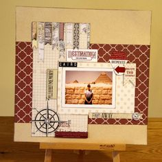 teresa collins page layouts | Teresa Collins - Far and Away layouts: