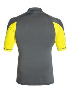 Performer SS - Kurzarm-Surf-T-Shirt für Männer  Dieses Kurzarm-Surf-T-Shirt kommt mit 6 Oz. [170 g / m2] Stoff und ist die perfekte Ergänzung zu der Quiksilver Frühjahrs Kollektion 2015. Weitere Features sind: ein UPF 50 + UV-Sonnenschutz und ein Quiksilver-Logo.  Merkmale:  Kurzarm-Surf-T-Shirt, UPF 50 + UV-Sonnenschutz, Quiksilver-Logo, Kollektion Frühjahr 2015,  ...