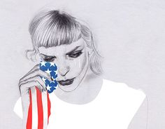 """Check out new work on my @Behance portfolio: """"USA Election 2016"""" http://be.net/gallery/45116237/USA-Election-2016"""