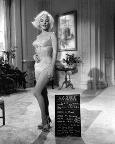 SOMETHING'S GO TO GIVE - Marilyn Monroe wardrobe still.
