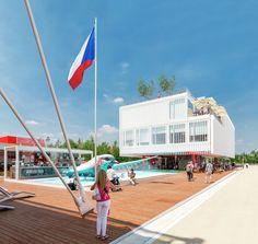 Gallery - Czech Pavilion Milan Expo 2015 / Chybik+Kristof Architects & Urban Designers - 1
