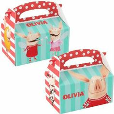 Olivia Empty Favor Boxes (4) by BirthdayExpress. Save 5 Off!. $2.85. Olivia Empty Favor Boxes (4)
