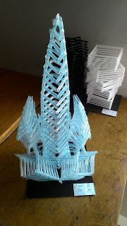 Contoh Nirmana 3D Media Sedotan ( Nirmana 3D Straw ) By : Denis Maulana | Click the website to see more