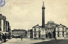 Archives municipales de Toulouse : Halle aux Grains et place Dupuy en 1900