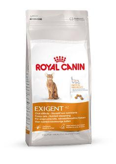 EXIGENT 42 Protein Preference - Für #anspruchsvolle, #nährstoffsensitive #Katzen ab dem 1. bis zum 7. Lebensjahr. Einen starken Einfluss auf die Vorliebe haben die #Empfindungen der Katze nach der #Nahrungsaufnahme: Je positiver das Gefühl nach der Mahlzeit, desto eher wird die Katze auch zukünftig diese #Nahrung bevorzugen. http://www.royal-canin.de/katze/produkte/im-fachhandel/nahrung-nach-mass/1-bis-7-jahre/exigent-42/eigenschaften/