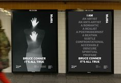 BRUCE CONNER: IT'S ALL TRUE - The Department of Advertising and Graphic Design