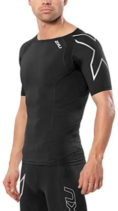 5257b1d21 2XU Men s Short Sleeve Compression Top Review Muscle Groups