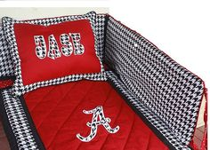 Alabama Baby Bedding Set, Crib Bedding, Nursery Set, Baby Boy, Comforter Set