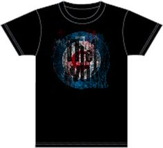 bfd113b3382 The Who vintage t-shirt features the famous target logo. black fitted cotton  with washed out effects to the graphics for a vintage look and feel.
