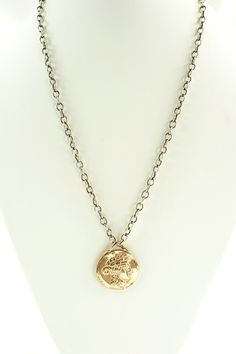 This stunning original pendant is great on its own or compliments other pieces when layering