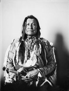 American Indians : Mountain Chief - Blackfoot 1903.