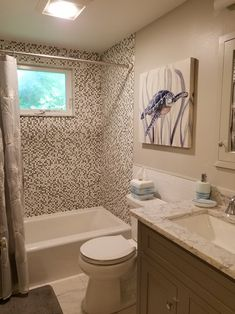 Quot It S A Wrap Before And After Bathroom Project Tile