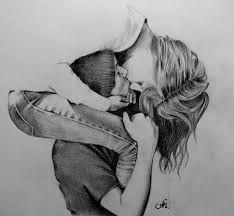 Znalezione obrazy dla zapytania cute couple drawing ideas tumblr
