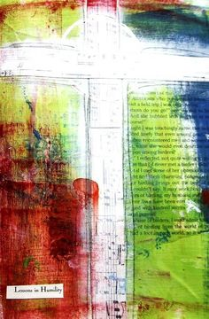 altered journal page by maryfreeman, via Flickr