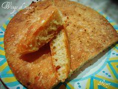 Pane fatto in casa con impasto molle, ricetta