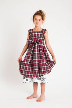 Our Dolce Dress @ 851 Hornby Street, Vancouver, BC Redfish Kids