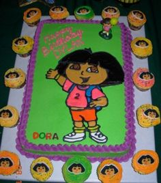 Another Dora cake idea.