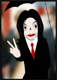 caricatures #MichaelJackson