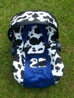 Black and white Cow print car seat cover tent canopy. $28.00, via ...