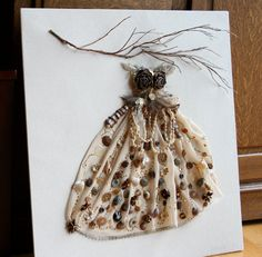 Fantasy dress for a woodland fairy by kimbergercreative on Etsy, $55.00