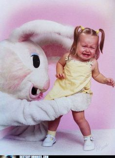 Easter bunny not a good idea lol