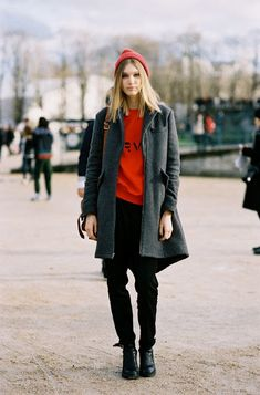 Paris Fashion Week AW 2014....Irina (via Bloglovin.com )