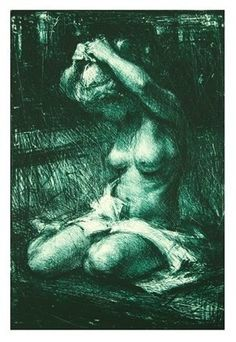 Vebjørn Sand litografi