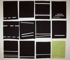 Fabric Sketches for Contemporary Art Quilt