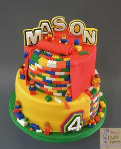 Lego Birthday Cake by Jenny Kennedy Jenny's Haute Cakes