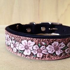 Hey, I found this really awesome Etsy listing at https://www.etsy.com/listing/197655206/made-to-order-cherry-blossom-collar
