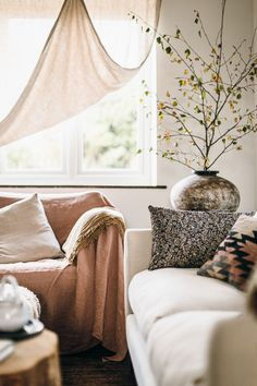 my scandinavian home: 12 Budget Friendly Ways To Transform Your Living Room Into a Cosy Winter Haven! Malm, Hygge, Transformers, Winter Haven, Cosy Winter, Cosy Corner, Kitchens And Bedrooms, Bedroom Ceiling, Linen Sofa