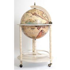 Found it at Wayfair - Globe Drinks Cabinet Floor Stand-White