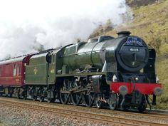 royal scot steam trains photos - Google Search