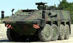 The Boxer 8x8 wheeled Multi-Role Armoured Vehicle (MRAV). - Image - Army Technology