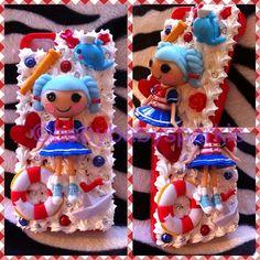 iPhone 5 Lalaloopsy Marina Anchors Decoden by BabyBabySparkle, £19.99