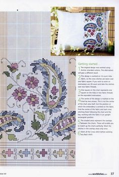 ru / Фото - New Stitches 197 - tymannost Cross Stitch Boarders, Cross Stitch Flowers, Cross Stitch Charts, Cross Stitch Designs, Cross Stitching, Cross Stitch Embroidery, Embroidery Patterns, Hand Embroidery, Cross Stitch Patterns