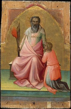 Abraham - Artist: Lorenzo Monaco (Piero di Giovanni) (Italian, Florence (?) ca. 1370–1425 Florence (?)) Date: ca. 1408–10 Medium: Tempera on wood, gold ground